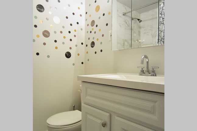 Bathroom at 2 Bedroom Apartment at East 53rd Street in Midtown
