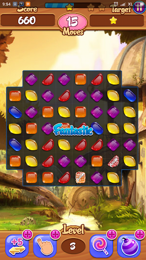 Candy Crystal - Match 3 game