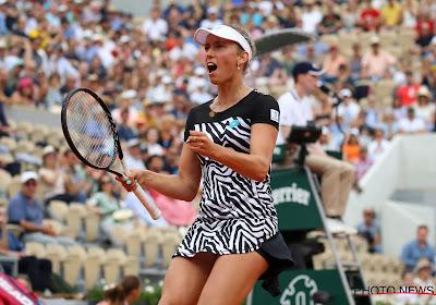 Elise Mertens zet aarzelende start vlot recht en plaatst zich voor kwartfinales in Rome
