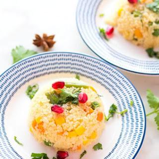 Vegetable Couscous Pilaf- Foodie Mamas.