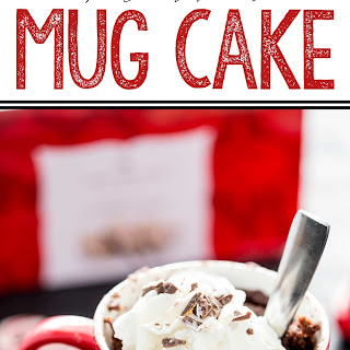 Chocolate Peppermint Molten Mug Cake Recipe