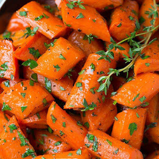 Honey Roasted Carrots.
