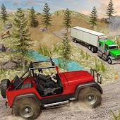 Offroad Jeep Prado Driving- Truck Driver Sim Android APK Download Free By Scene9 Games Studio