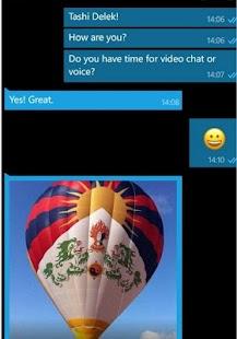 Tibetan Chat - náhled