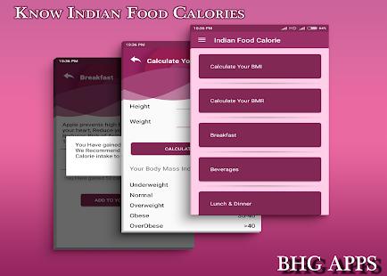 Download Indian Food Calories For PC Windows and Mac apk screenshot 1