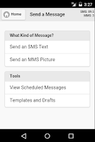 Screenshot of Messenger Mobile