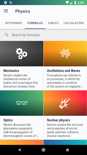 Screenshot for Physics - Calculators[PRO] in Hong Kong Play Store