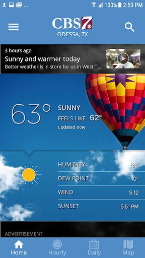 CBS7 Weather screenshots 1