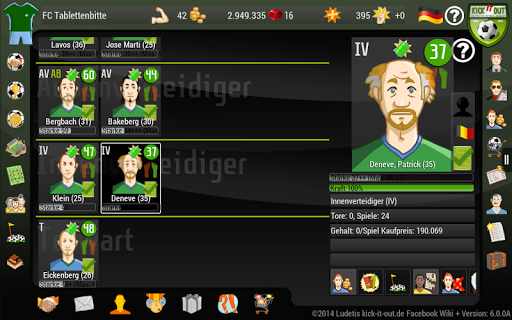 Kick it out Soccer Manager 10.0.1 screenshots 9