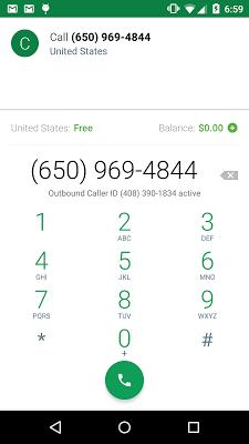 Hangouts Dialer - Call Phones - screenshot