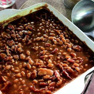 Easy Jack Daniels Baked Beans.