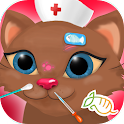 Cat Nose Doctor Game for Kids icon