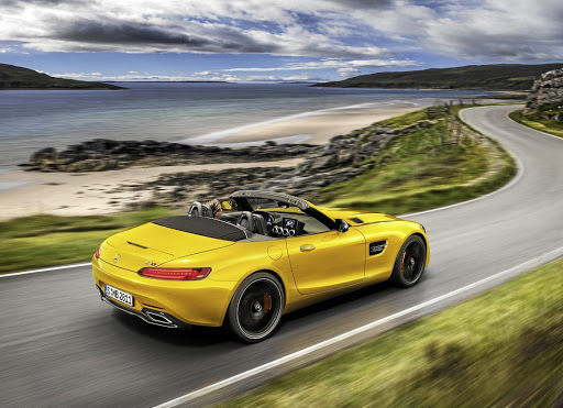 Mercedes-AMG has unveiled another GT roadster that is neither too hot nor too cold but just right. Picture: NEWSPRESS UK