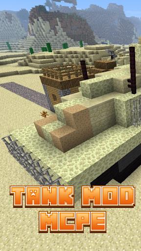 Tank Mod For MCPE