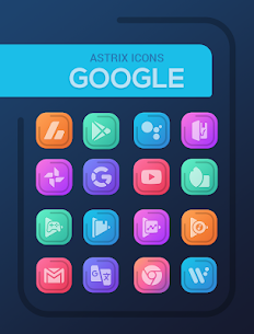 Astrix – Icon Pack v1.0.7 Patched Latest APK Free Download 2