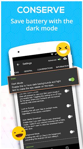 Disa - Message hub for SMS, Telegram, FB Messenger 0.9.9.8 screenshots 4