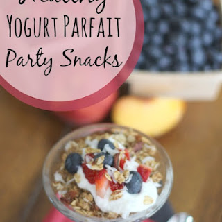 Healthy Yogurt Parfait Party Snacks