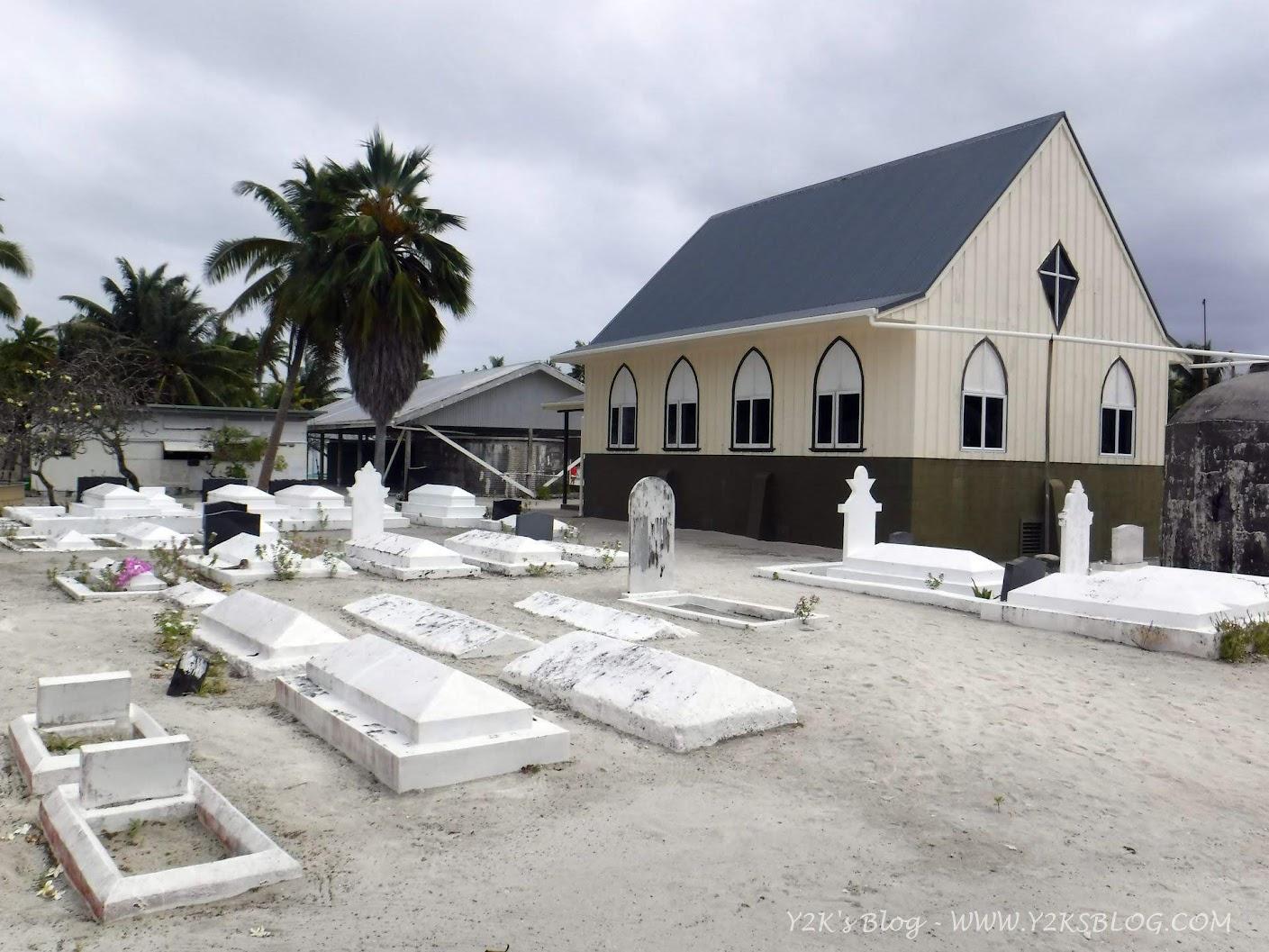La chiesetta e il cimitero di Palmerston