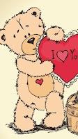 Screenshot of Teddy Bear Live Wallpaper
