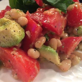 Avocado White Bean Salad