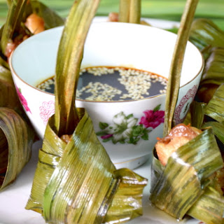 Pandan leaf chicken - easy Thai