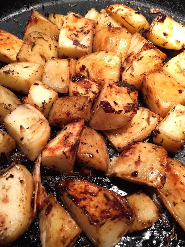 Balsamic-roasted New Potatoes Recipe