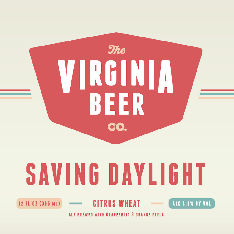 Logo of Virginia Beer Co. Saving Daylight