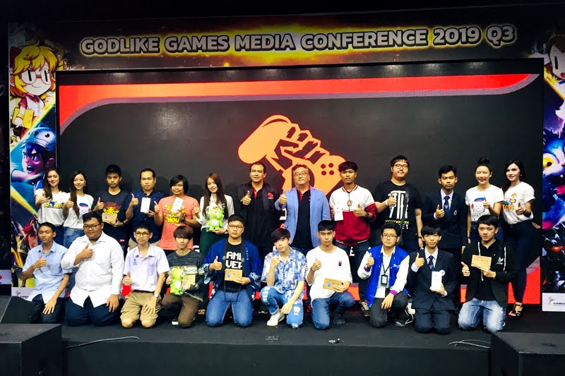 GODLIKE Games Media Conference Q3 2019