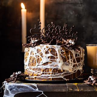 Forbidden Forrest Butterbeer Chocolate Cake.