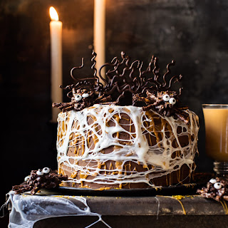 Forbidden Forrest Butterbeer Chocolate Cake..