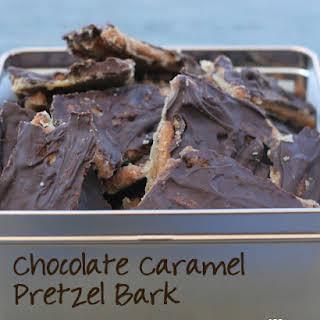 Chocolate Pretzel Bark Recipes.