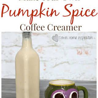 Pumpkin Spice Coffee Creamer.