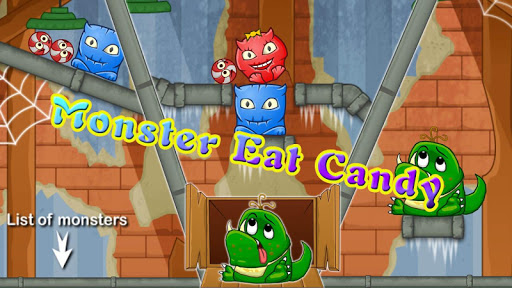 Monster eat candy