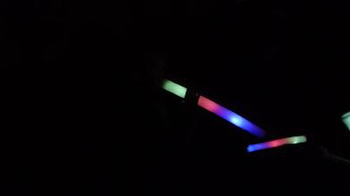 Photo: er zijn nog meer van die lichtflitsen....