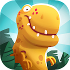 Dino Bash - Dinosaurs v Cavemen Tower Defense Wars icon