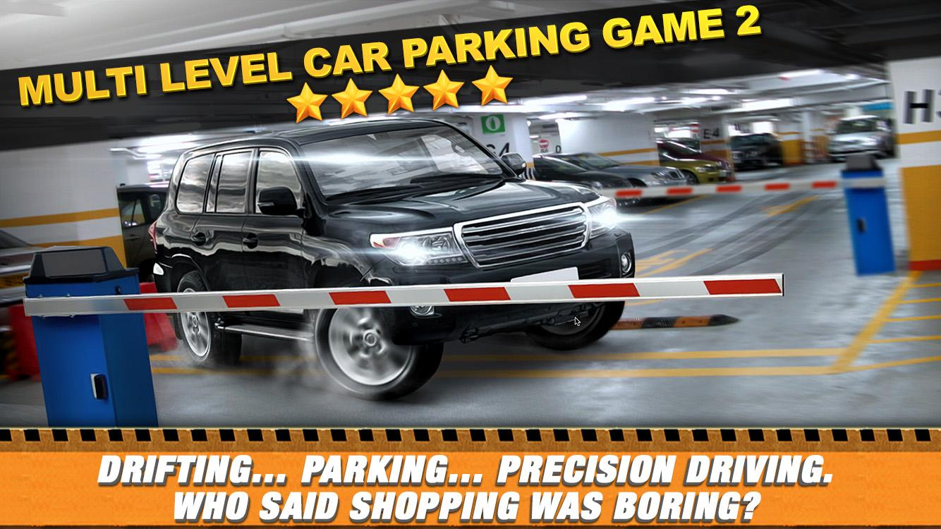 Car Parking Simulator Games Multilevel