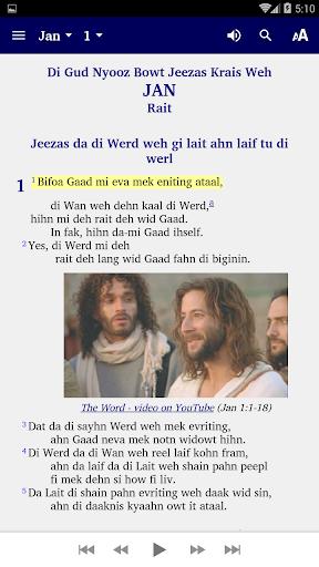 Belize Kriol - Bible 5.6 screenshots 2