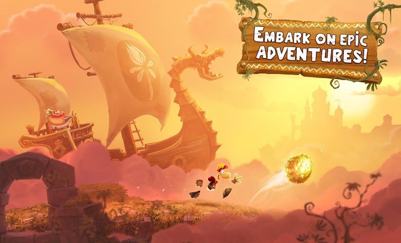 android Rayman Adventures Screenshot 12
