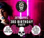 La Santa Muerte 3rd Birthday Party : La Santa Muerte Melville