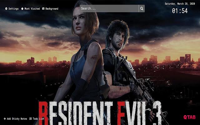 resident evil 3 remake wallpaper 1920x1080
