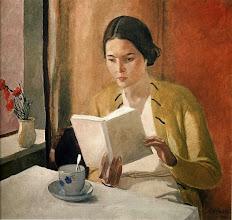 """Photo: Alexander Deineka, """"Donna che legge"""""""