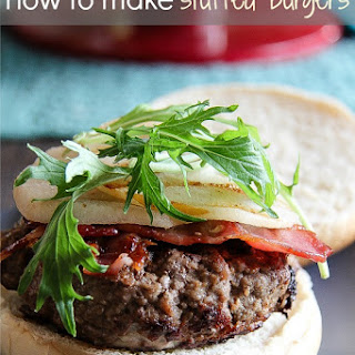 How To Make Stuffed Burgers.