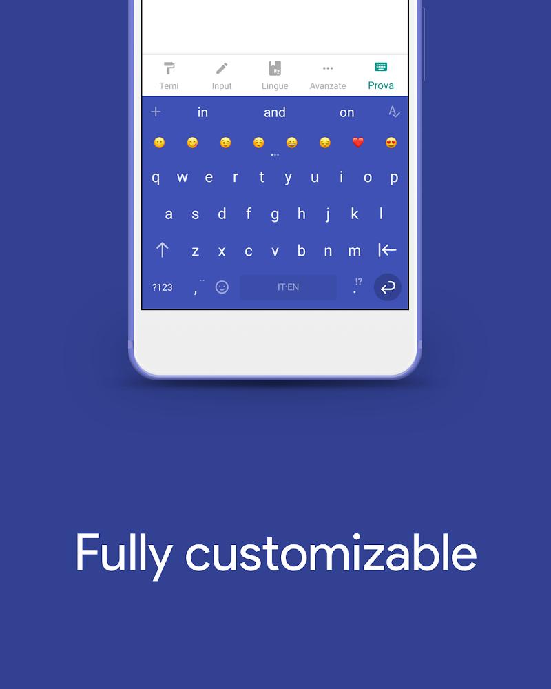 Hydrogen Keyboard Chrooma- Slim, Cyanogen, Lineage Screenshot 6