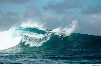 Photo: Photo of the Day: Dane Reynolds, Cloudbreak. Photo: #ToddGlaser #Surfer #SurferPhotos