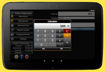 App Daily Expenses 2: Personal finance APK for Windows Phone