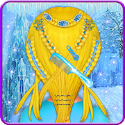 Game Ice Princess Braided Hairstyle - Girls Game APK for Windows Phone