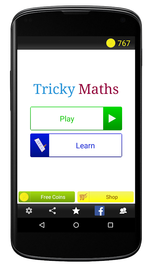 Tricky Maths- screenshot