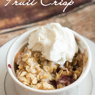 Crock-pot Fruit Crisp