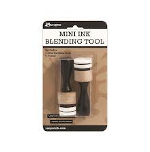 Tim Holtz Mini Ink Blending Tool 1 inch - Round