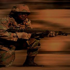 Soldier by Marissa Enslin - Digital Art People